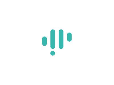 Rebrand Work in Progress agency fist minimalist minimal green dallas branding brain wip logo icon brand mark