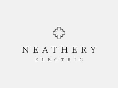 Rebranding Dad branding high end dallas quatrefoil logo rich elegant boutique small business service electric electrician