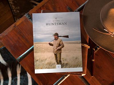 Modern Huntsman: Volume One Magazine launch kickstarter book rustic print publication western hunter editorial magazine hunting