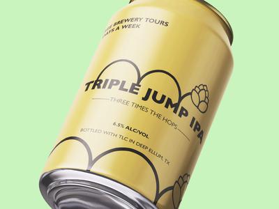 IPA Beer Can Logo Design
