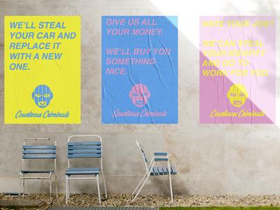 Courteous Criminals Posters