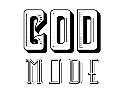 God Mode Logo Comp 3