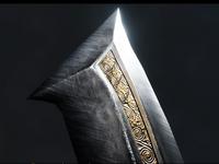 Egyptian Khopesh - Steel Version