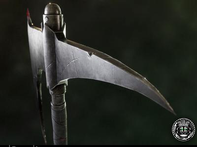 Dragonslayer's Crescent Axe - Dark Souls concept