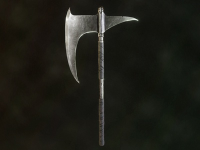 Dragonslayer's Crescent Axe - Dark Souls concept