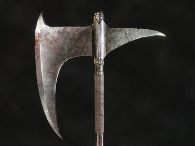 Dragonslayer's Crescent Axe - Dark Souls Fanart