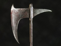 Dragonslayer's Crescent Axe - Dark Souls Fanart