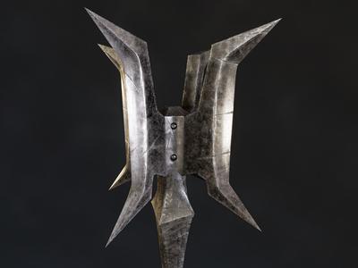 Carved Brink - Goblin Mace of Doom