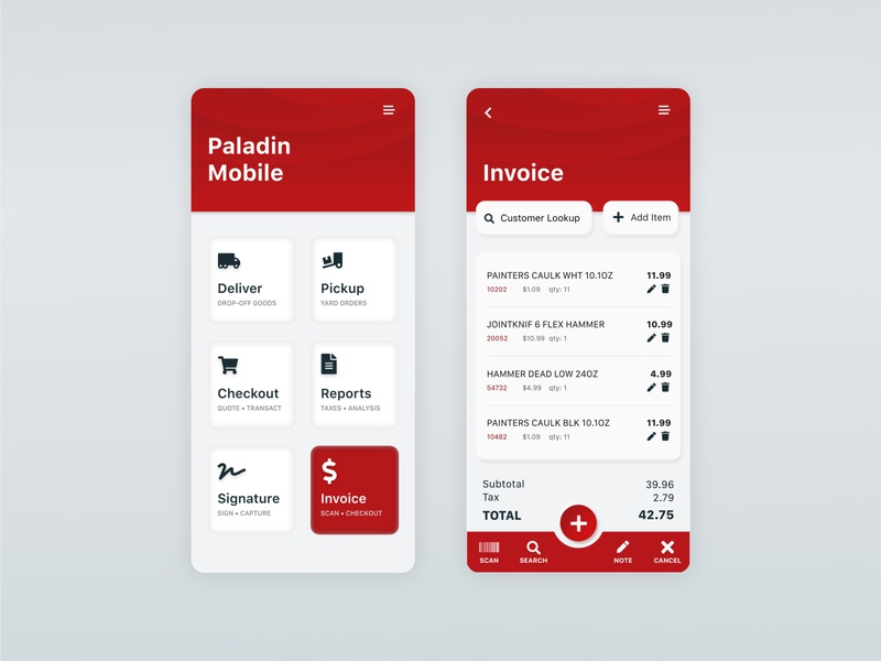 Paladin Mobile App