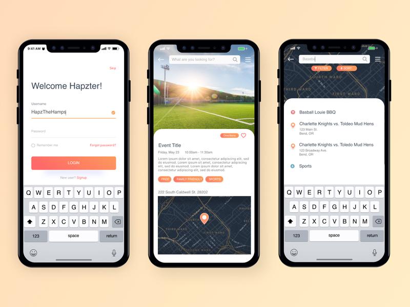 Hapz Mobile App