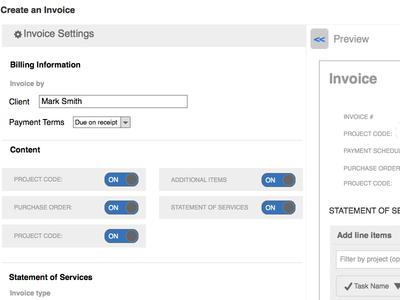 Invoice Redesign