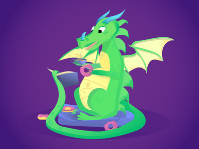 Sweety dragon