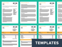 Invoice And Proposal Templates