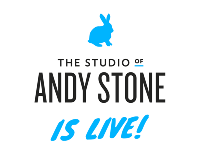 And… we're live!  andy stone boulder portfolio site