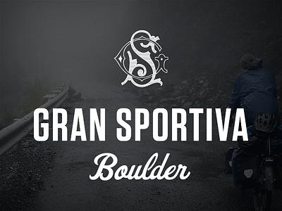 GS Boulder monogram gs boulder cycling tungsten