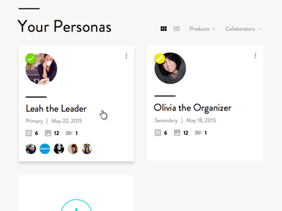 Caliber Ux Personas user experience persona ux cx research