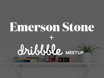 Emerson Stone Dribbble Meetup 2x