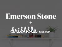 Emerson Stone Dribbble Meetup 2x emerson stone agency design denver colorado dribbble