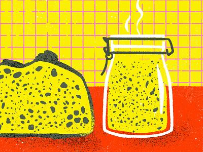 sourdough bread digitalart procreate sourdough puebla illustration