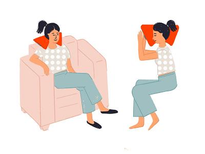 Cushion Happers cushion stayhome procreate illustrations puebla illustration