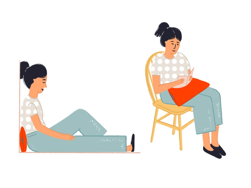 Cushion Happers cushion stayhome procreate puebla illustration