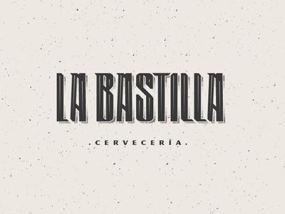 La Bastilla Cerveceria brewery logo brewery branding beer can branding beer beer branding illustration