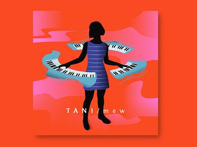 Tani Mew #1 Music Design graphicdesign music art music puebla illustration design