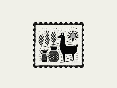 Stamp Purmamarca