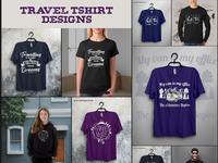 Travel Tshirt designs Bundle