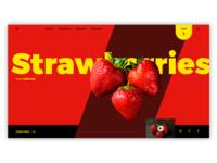 Ecommerce website design for strawberry farm in california