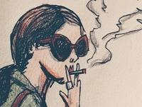 Smoking Doodle