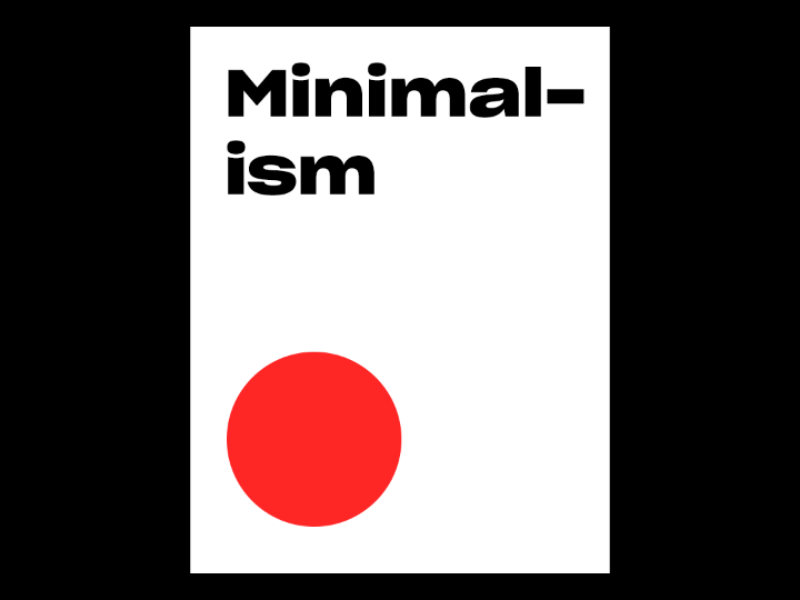 Minimalism simplicity minimalism visual experience idea made by expresso expresso