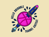 Dribbble Flash
