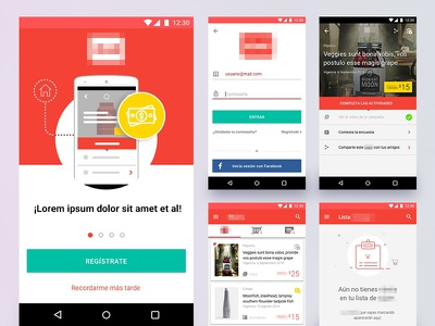 MobileApp for Android design android