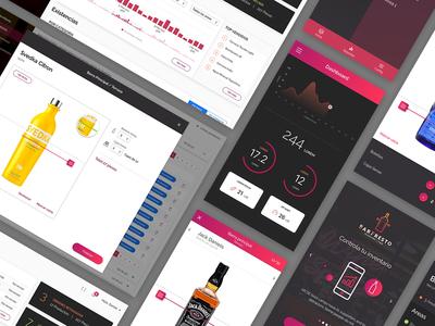 Bar Admin Tool - Web and Mobile