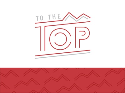To The Top YouTube Brand successful success logo interviews youtube logo youtube brand logo mountain logo to the top youtube channel youtube branding indiana typography indy indianapolis