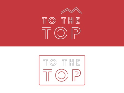 To The Top YouTube Channel inspire logo inspire interviews success logo mountain logo success youtube brand youtube youtube channel to the top design logo type indiana branding typography indy indianapolis