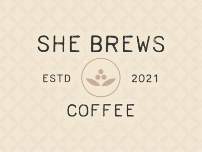 She Brews Coffee Company Branding brewing brand brewing army family on base base coffee california fort irwin california fort irwin coffee bean coffee plant patterns logos coffee logo coffee coffee trailer coffee trailer brand curbside coffee coffee company branding coffee brand branding