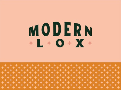 Unused Concept for Modern Lox pattern plus sign pattern retro mid modern mid mod modern logo lox logo modern lox salon logo salon brand salon hair brand hair logo type logo branding indy indiana typography indianapolis