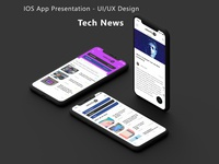 IOS App Presentation – UI/UX Design Template / Mockup ios app laundry uber location app product design user interface graphic design web design ux ui