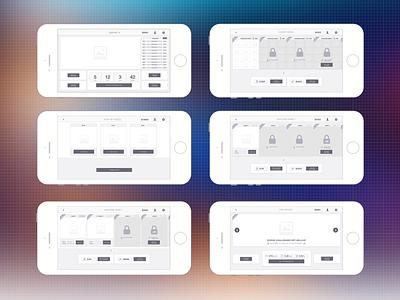 Gameflow rapid prototyping app game mobile flow ui gameflow native wireframes