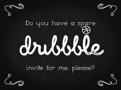 My dribbble invite request dribbble invite dribbble invited spare dribbble