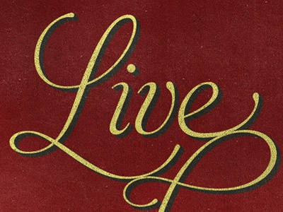 Live, love and learn poster live typography quote