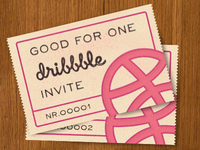 Good for one dribbble invite
