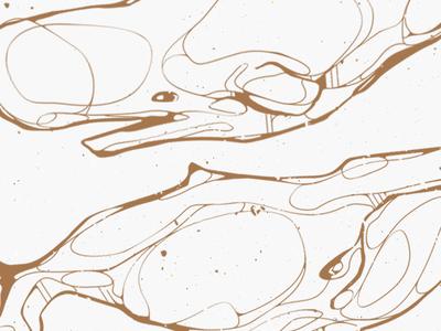 Copper whales (detail) poster print screenprint vector whale illustration puns