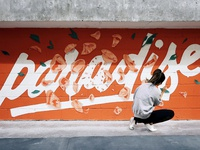 PARADISE Mural