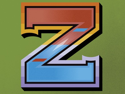 Zed lettering type drop cap sri lanka typography typefight