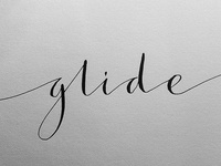 Glide Calligraphy