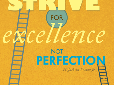 Strive For Excellence type