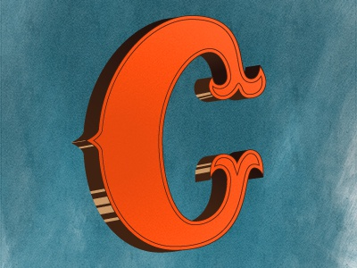 Give me a C lettering type alphabet letters